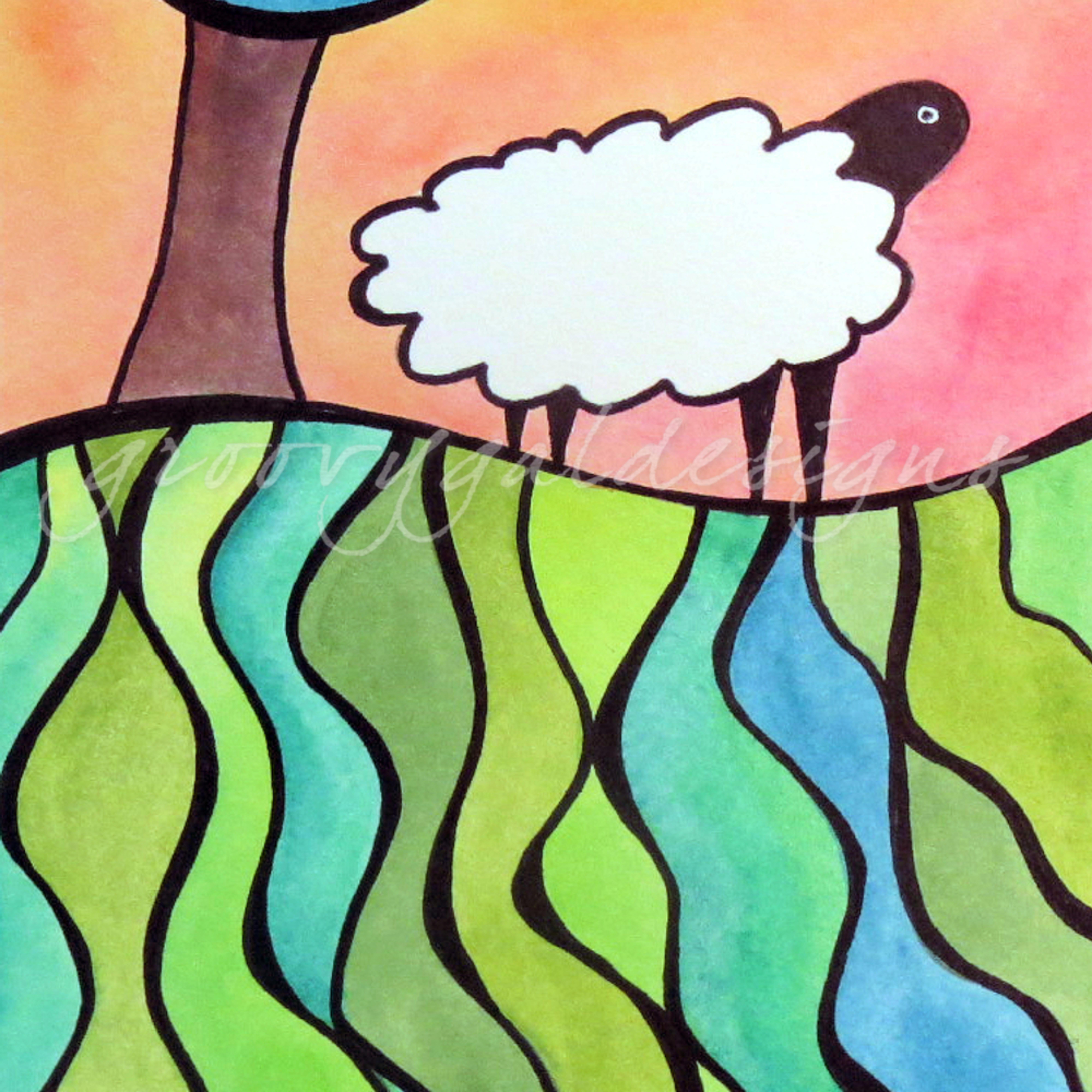 Sheep on a hill 2 ccm9ac