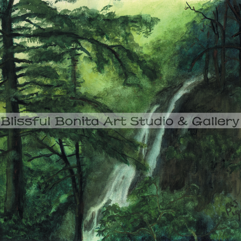 Waterfall luscious limelight ncbhxz