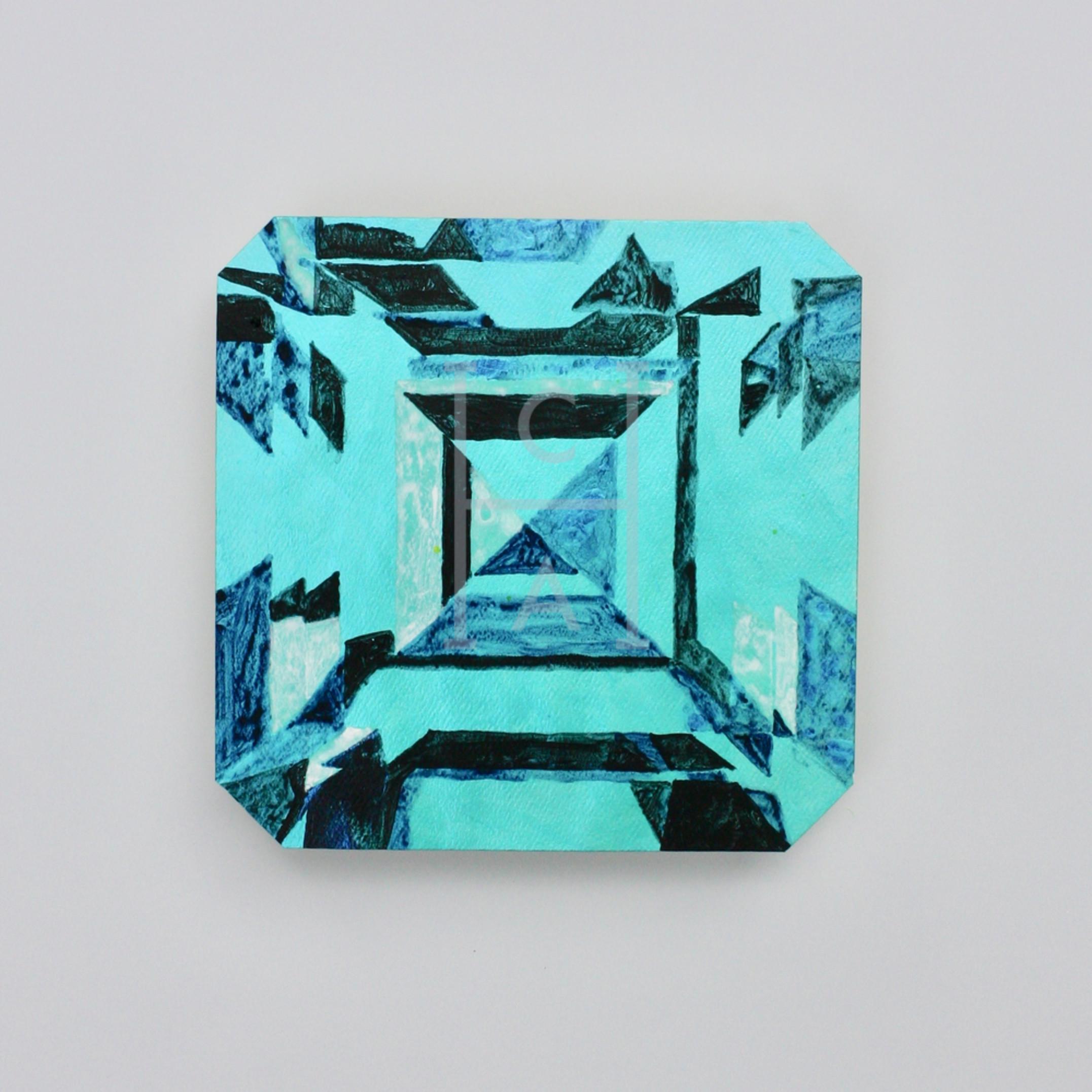 Kojin asscher cut emerald g6wqkd