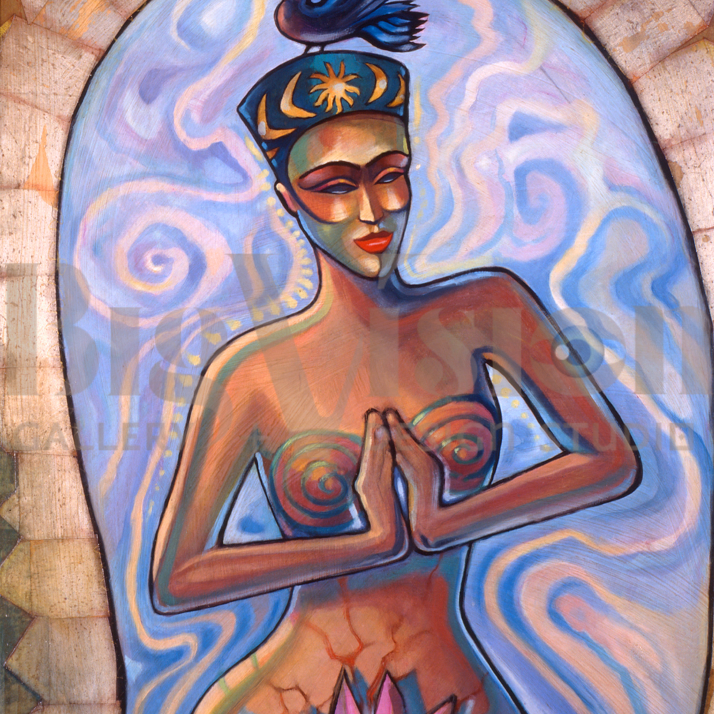 Venus praying hetcbo