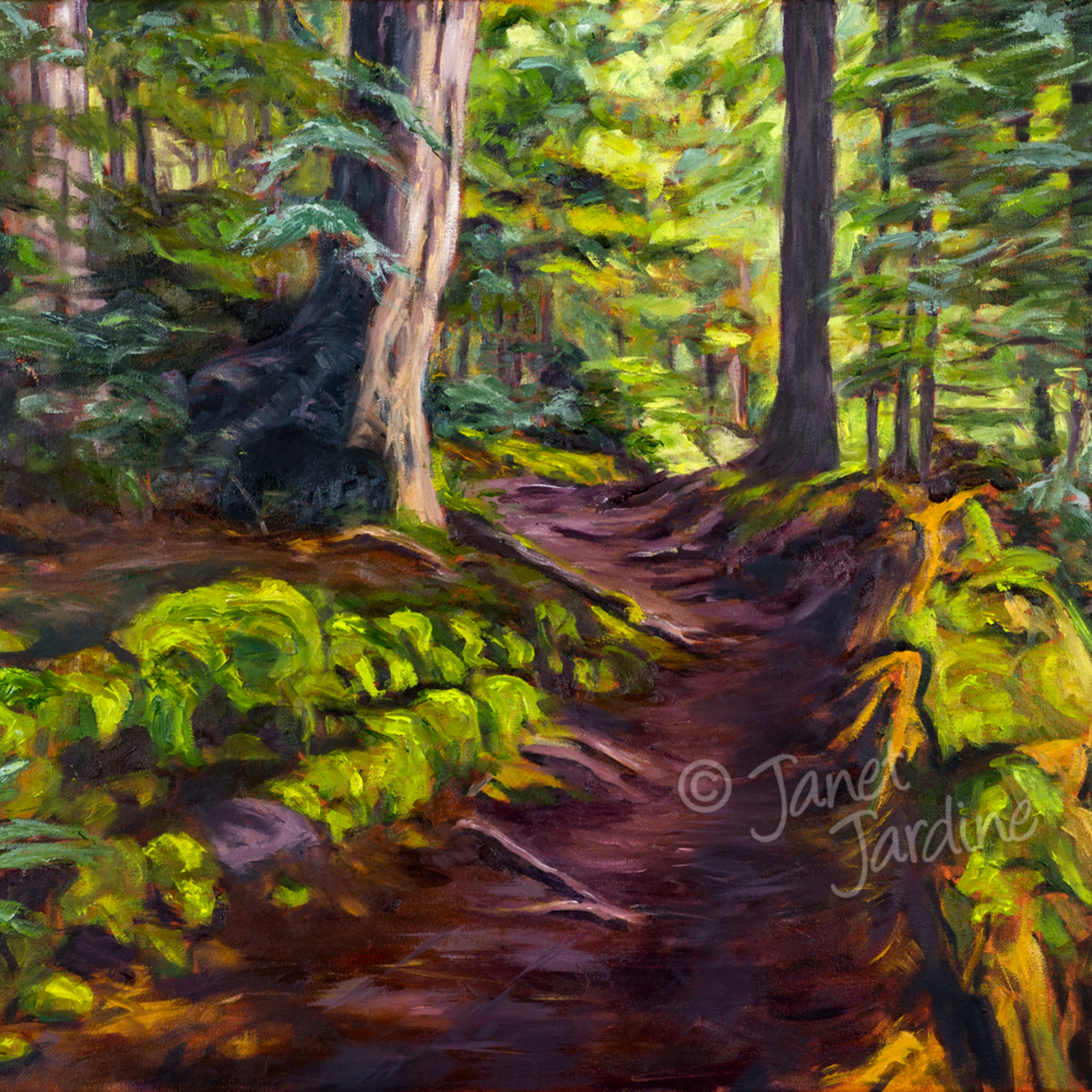 The winding path janet jardine painting asf lhlbi8