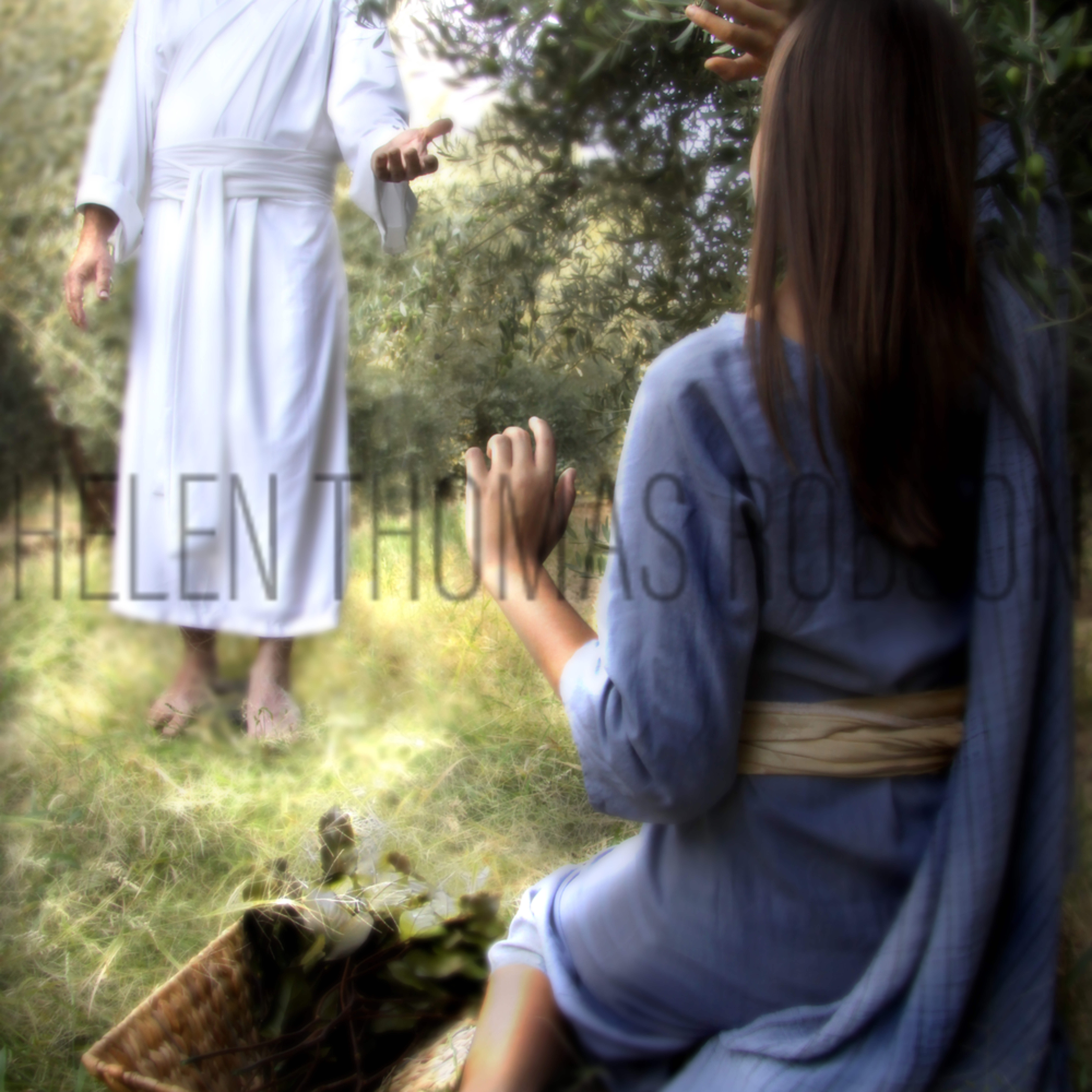 Luke2 blessed art thou among women 60x40 o4ecx2