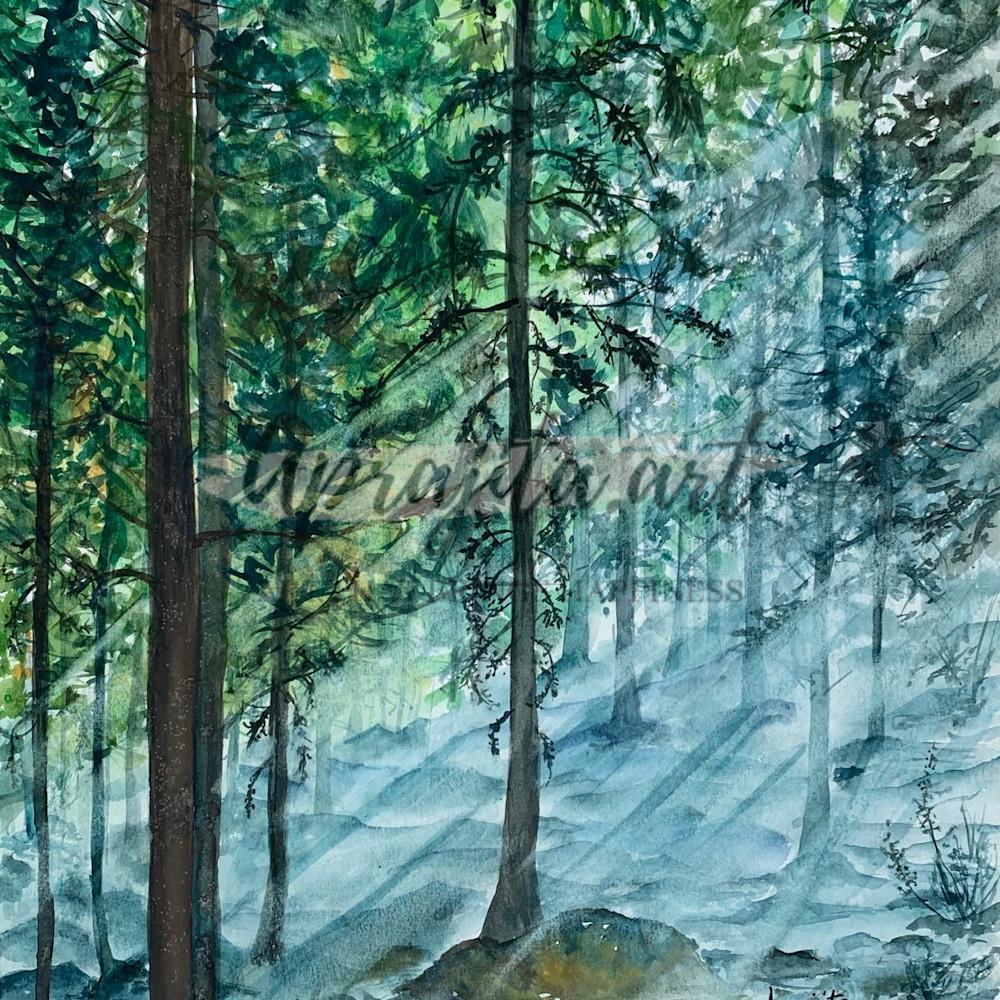 Misty woods prints lckfud