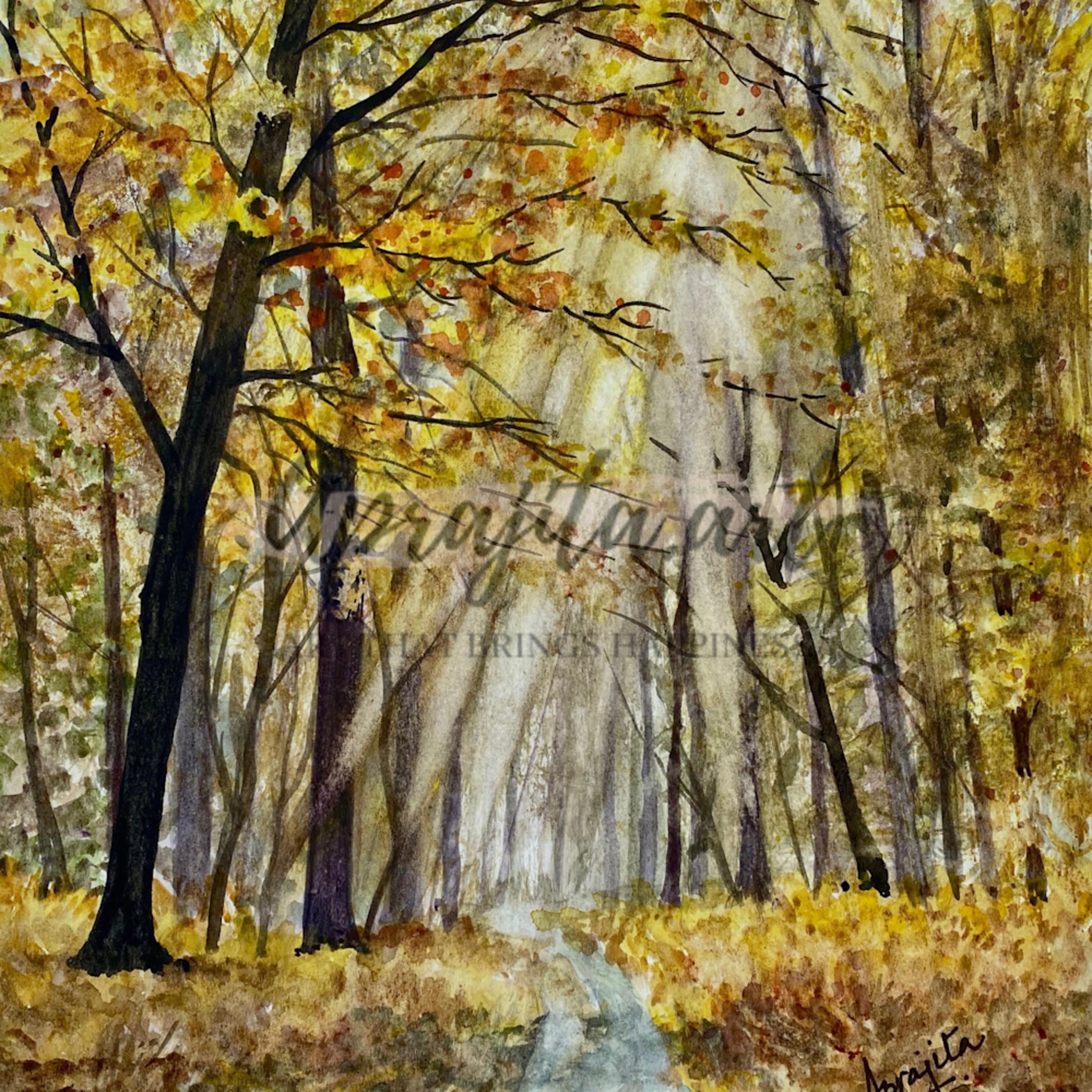 Golden forest eydefj