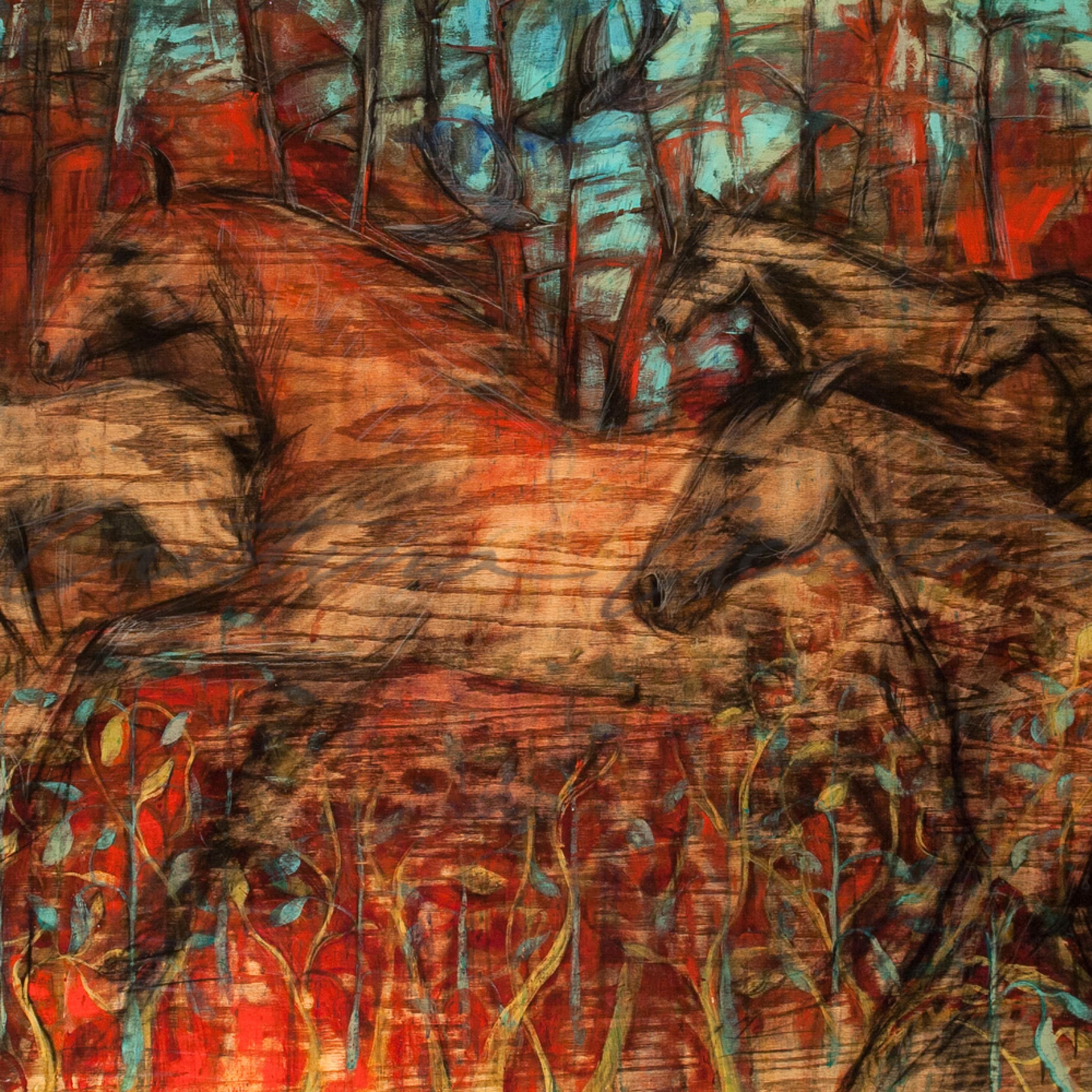 Horses running free fix rgaa2q