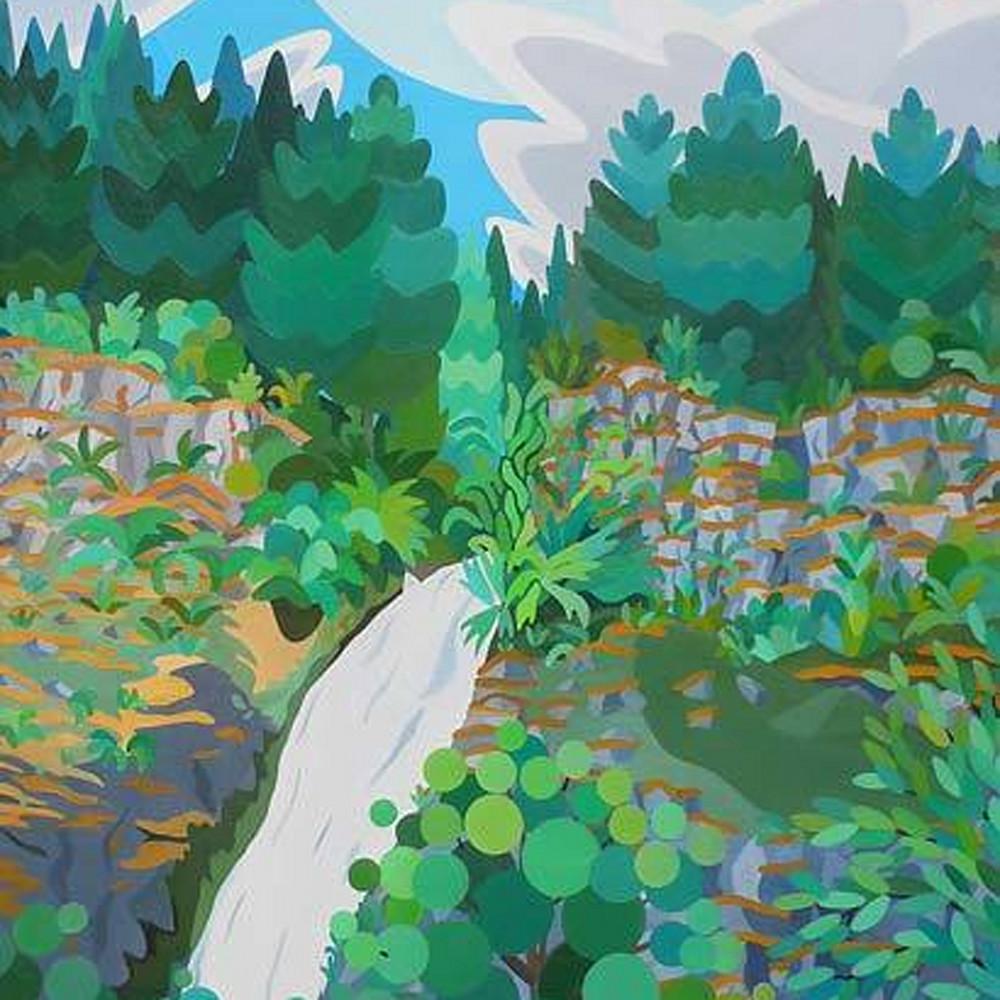 Falls amongst the trees oregon dfaslp