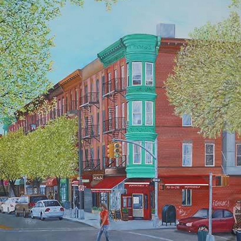 The corner early spring bzytmw