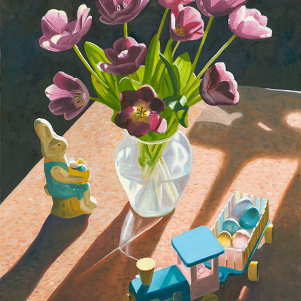 Easter still life xiv82d