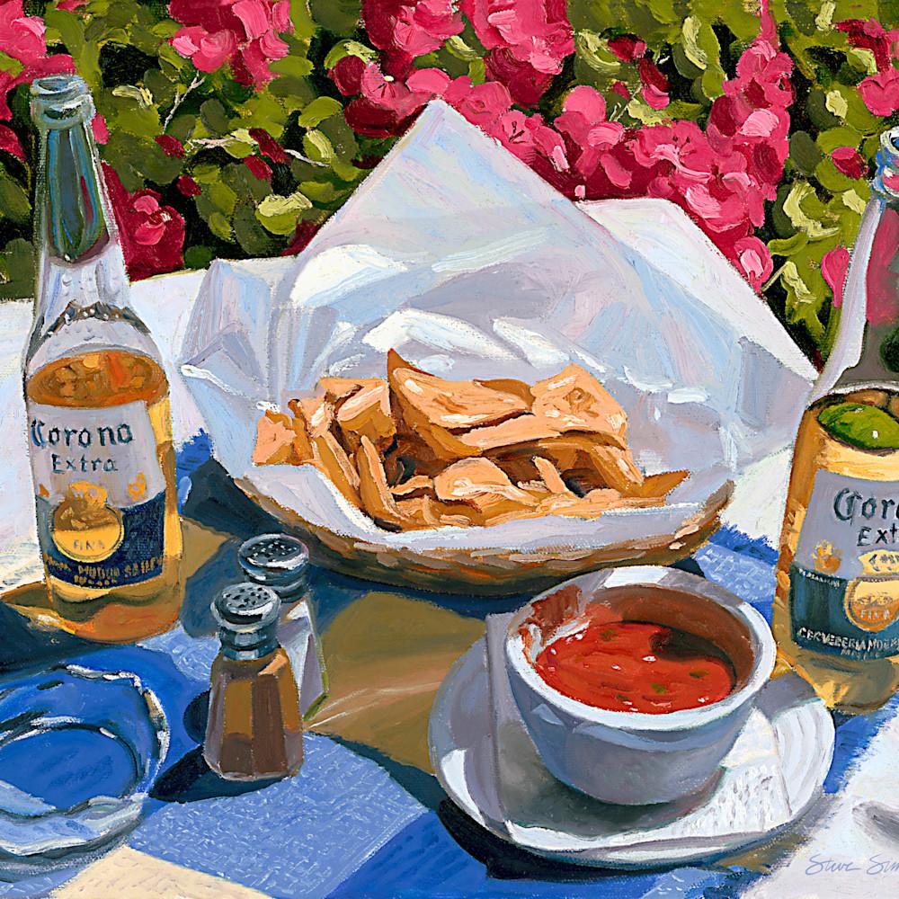 Cerveza y nachos nnqkxa