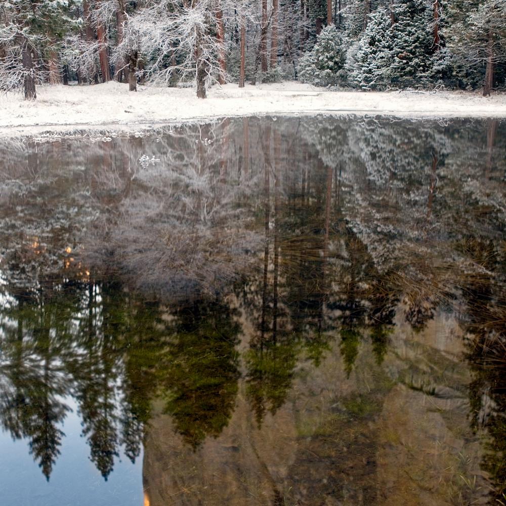 Winter reflection el cap wnxutk