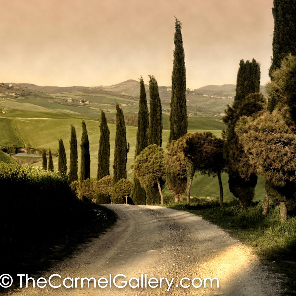 Country lane tuscany yf2wsx