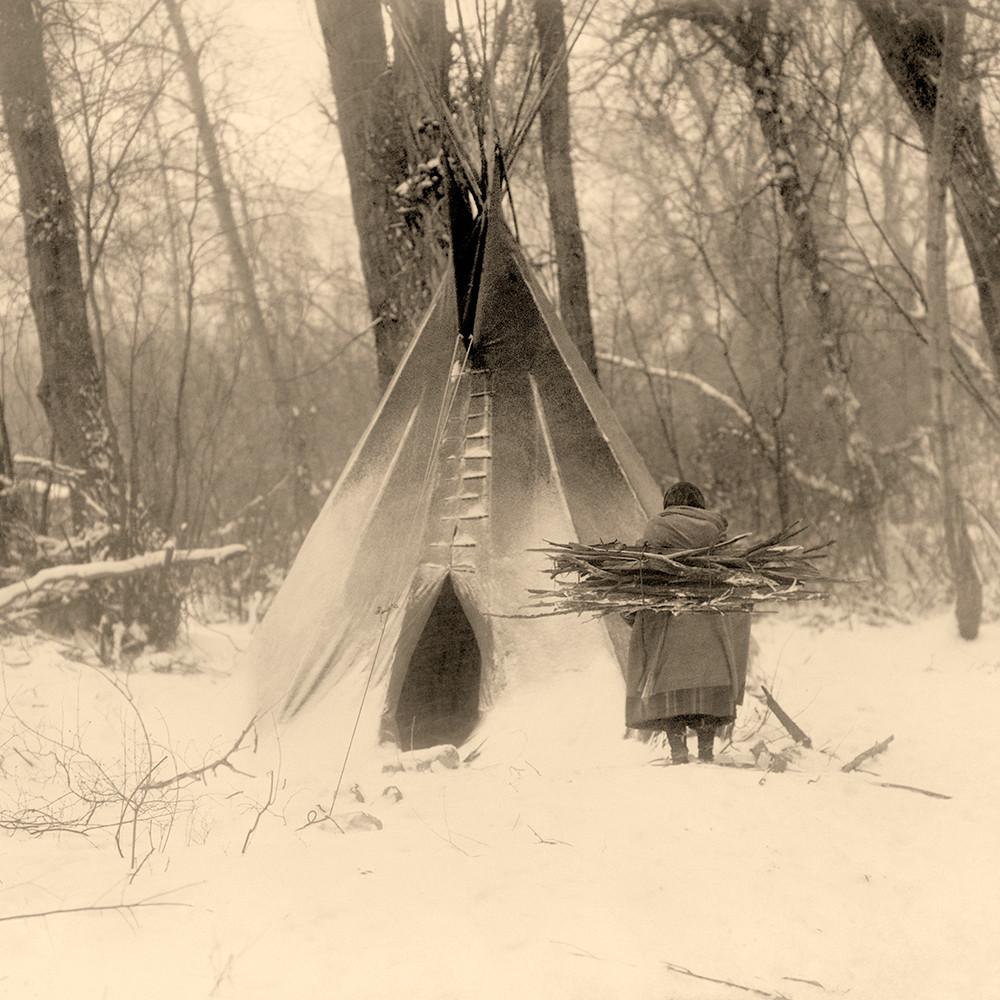 Winter apsaroke by curtis iskyy5