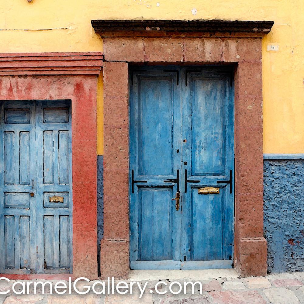 Blue doors san miguel gxvtic