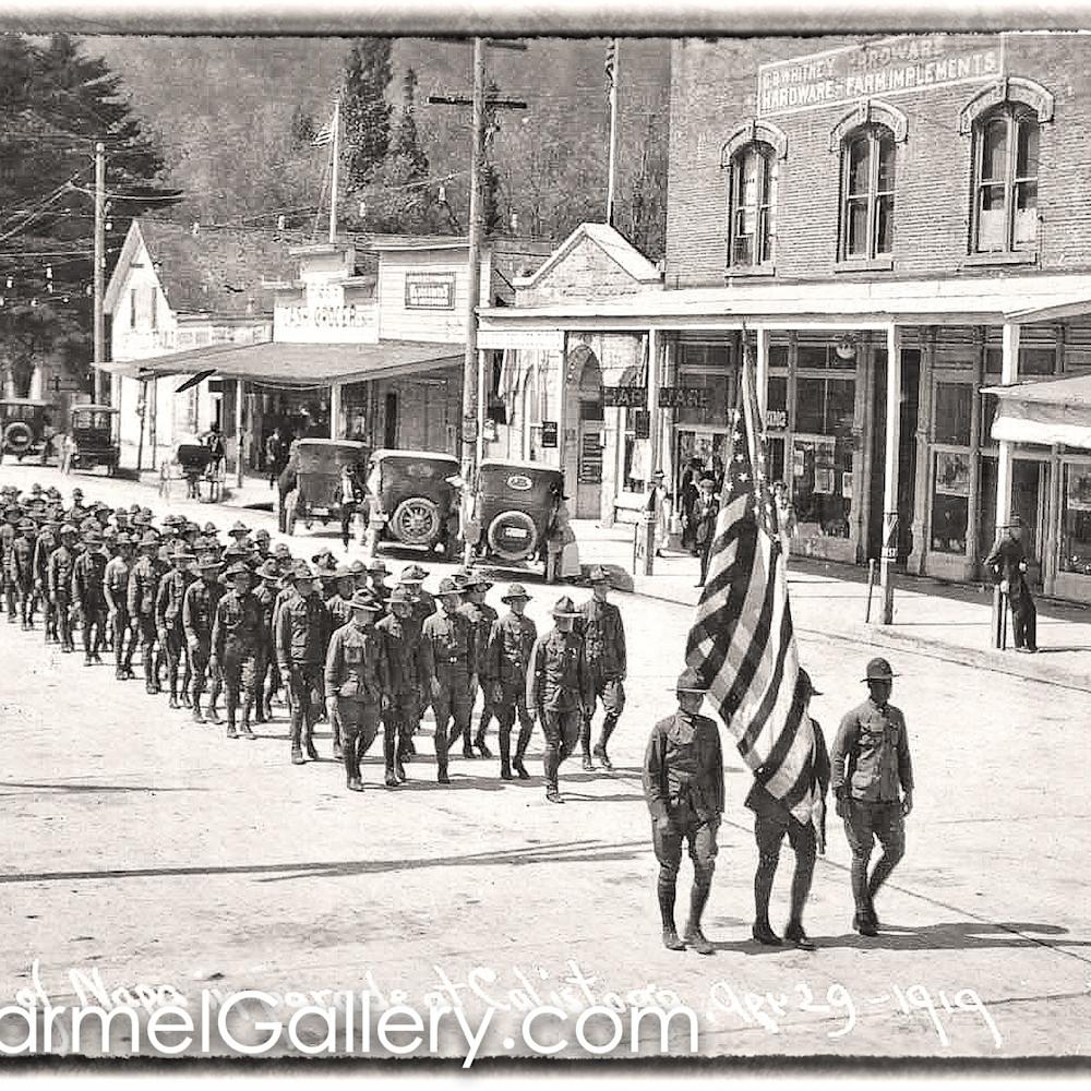 Boy scout parade calistoga 1919 kpcyel