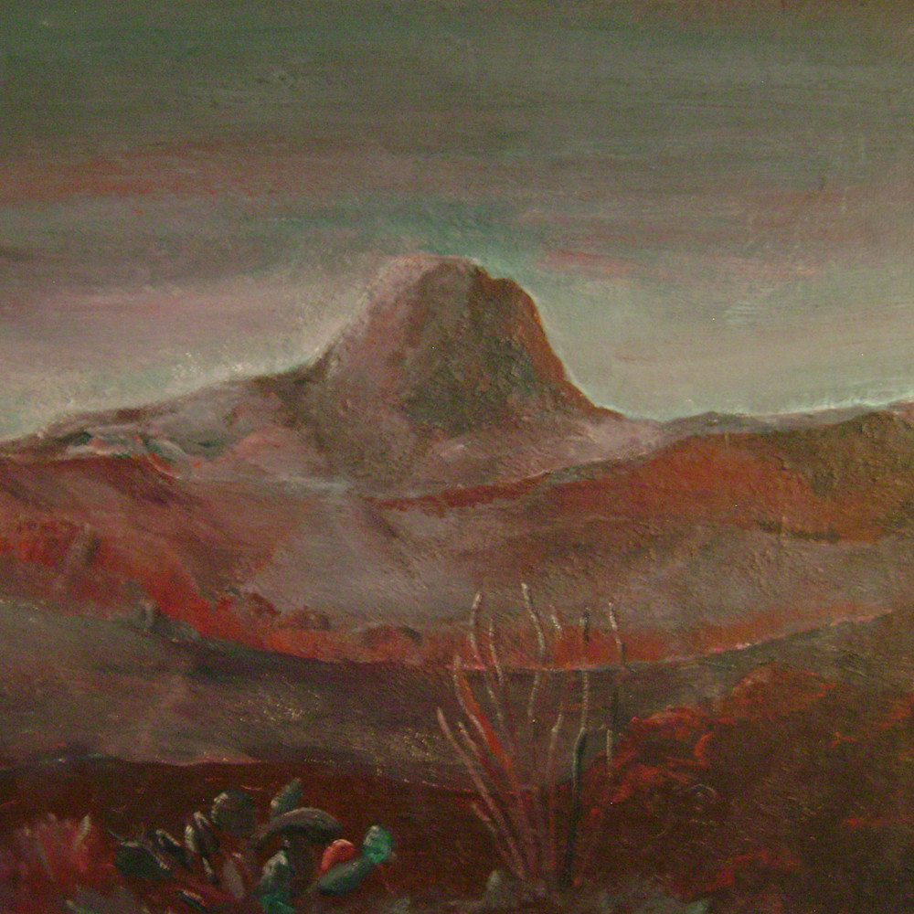 Santiago peak from black hills burgundy ajgxf4