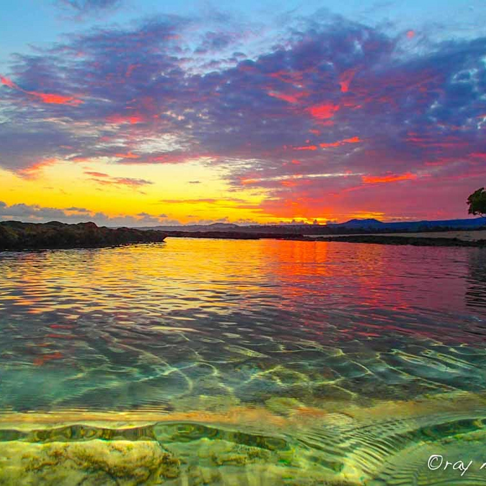 Sunrise reflections  gl1j1y