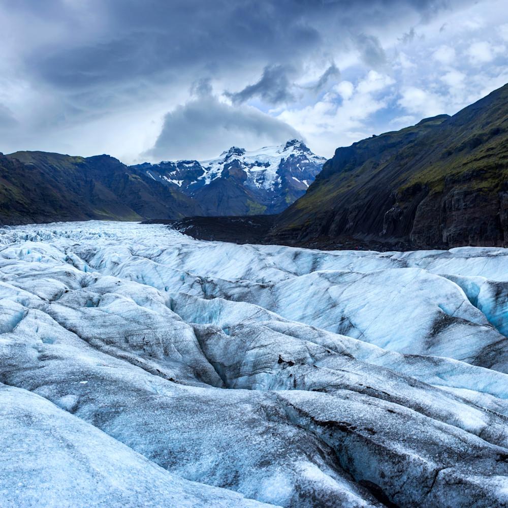 Svinasfellsjokull glacier panorama sgvi5e