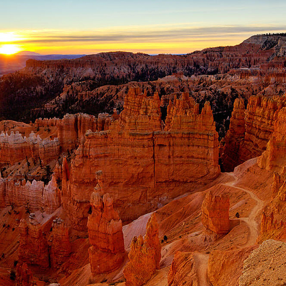 Bryce canyon dawn utah od5uwx