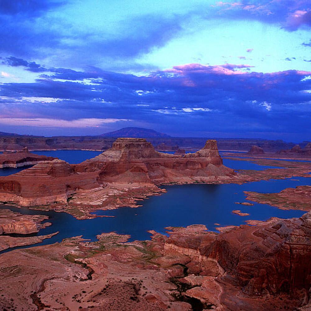 Lake powell sunset d5mznb