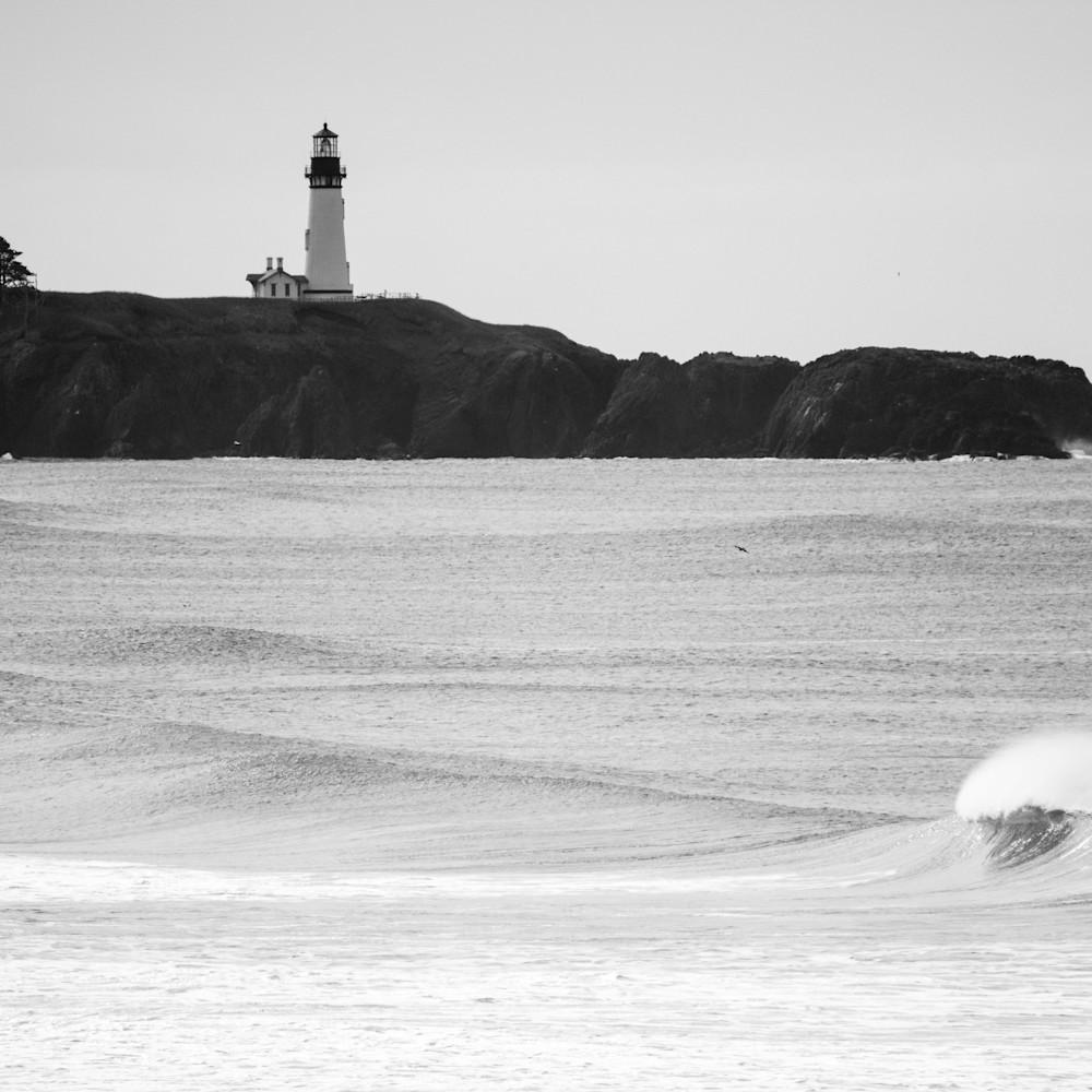 Lighthouse wave california coast w7fdep