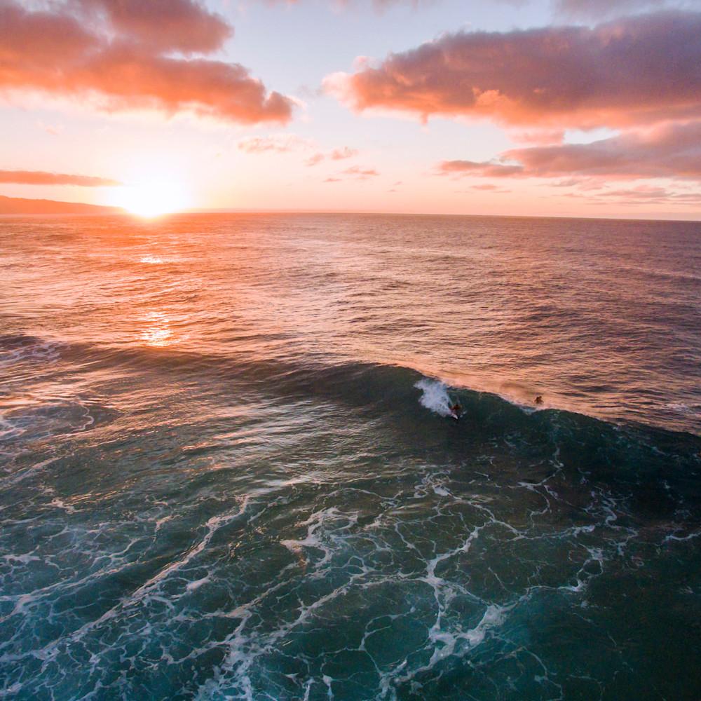 Surfer log cabins sunset paqflm