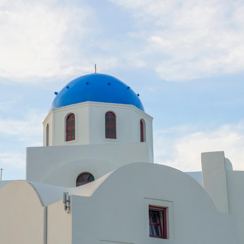 Oia blue roof hau2st