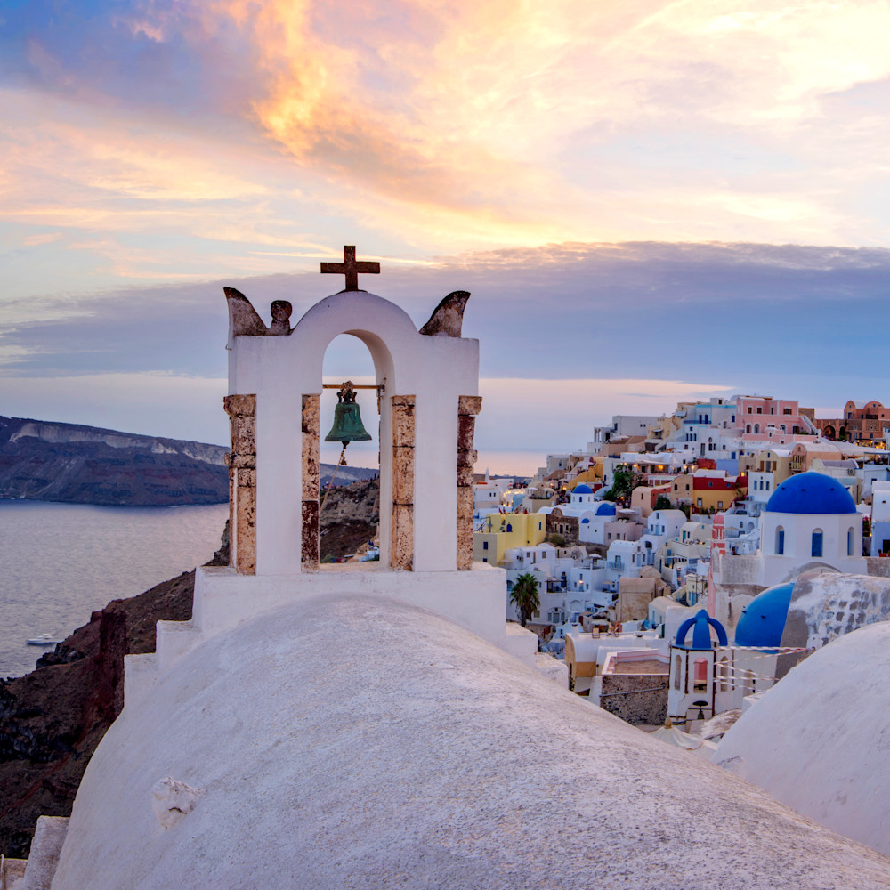 Epic sunset pano oia color corrected rtymxq