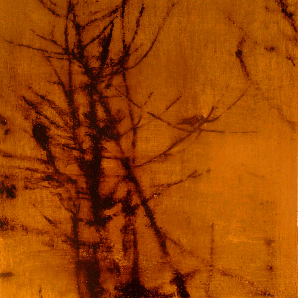 Bare branches with birds 38x48 skxeon