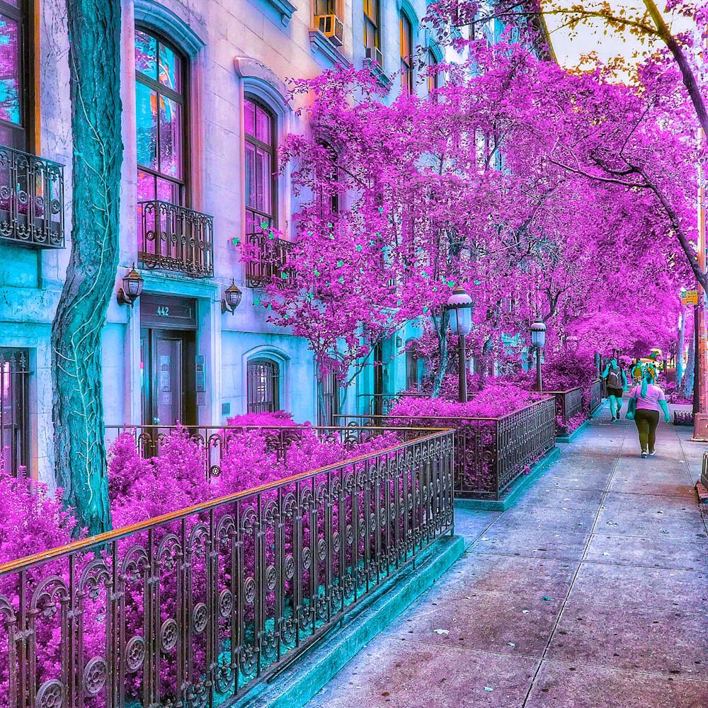 West 23rd street purple kunerv