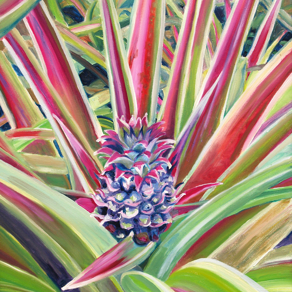 Pineapple flower ylch0q