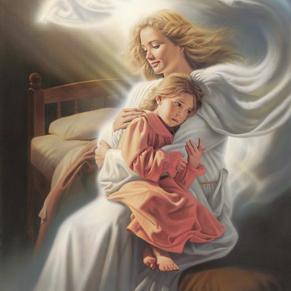 Simon dewey angels among us ezb0zn