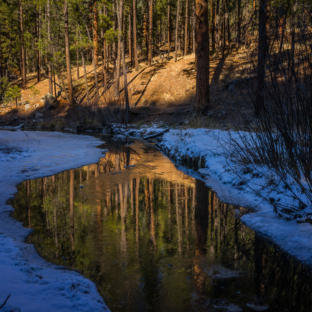 Fall afternoon east fork jemez river  7470 wto0se