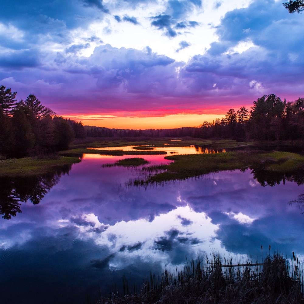 Moose river sunset smug x5uloj