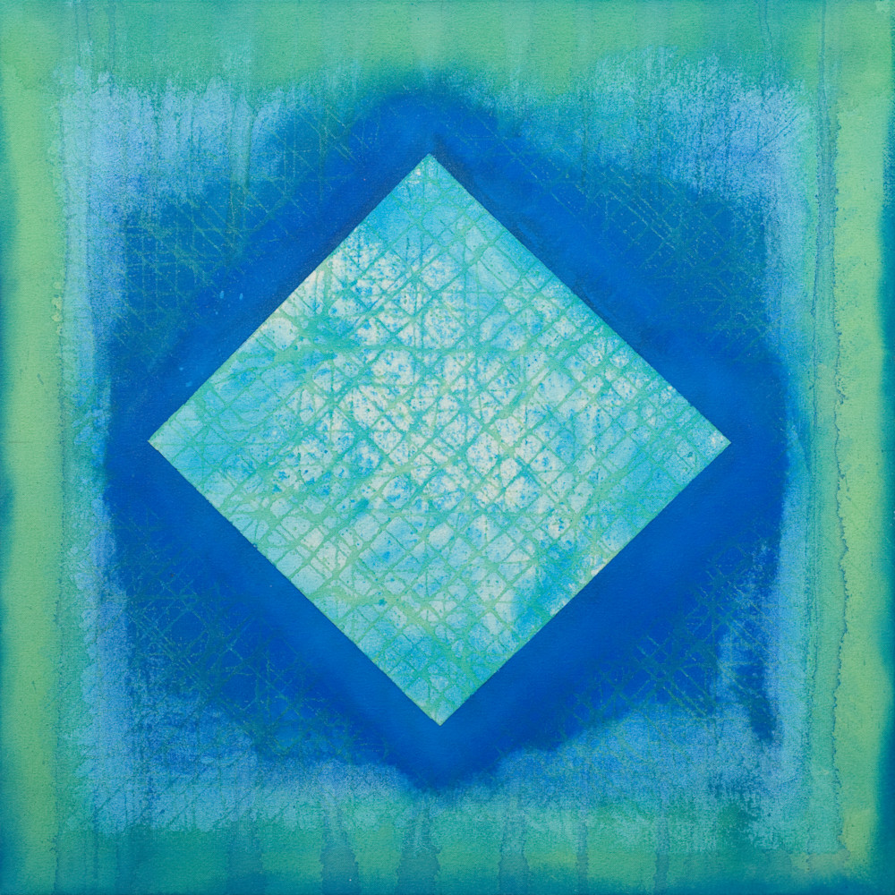 Ari lankin   untitled blue aqua painting wet paint nyc vpkxzw