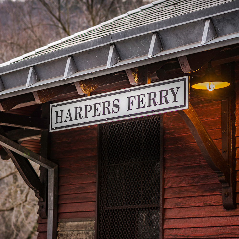 The stop at harpers ferry elthxq