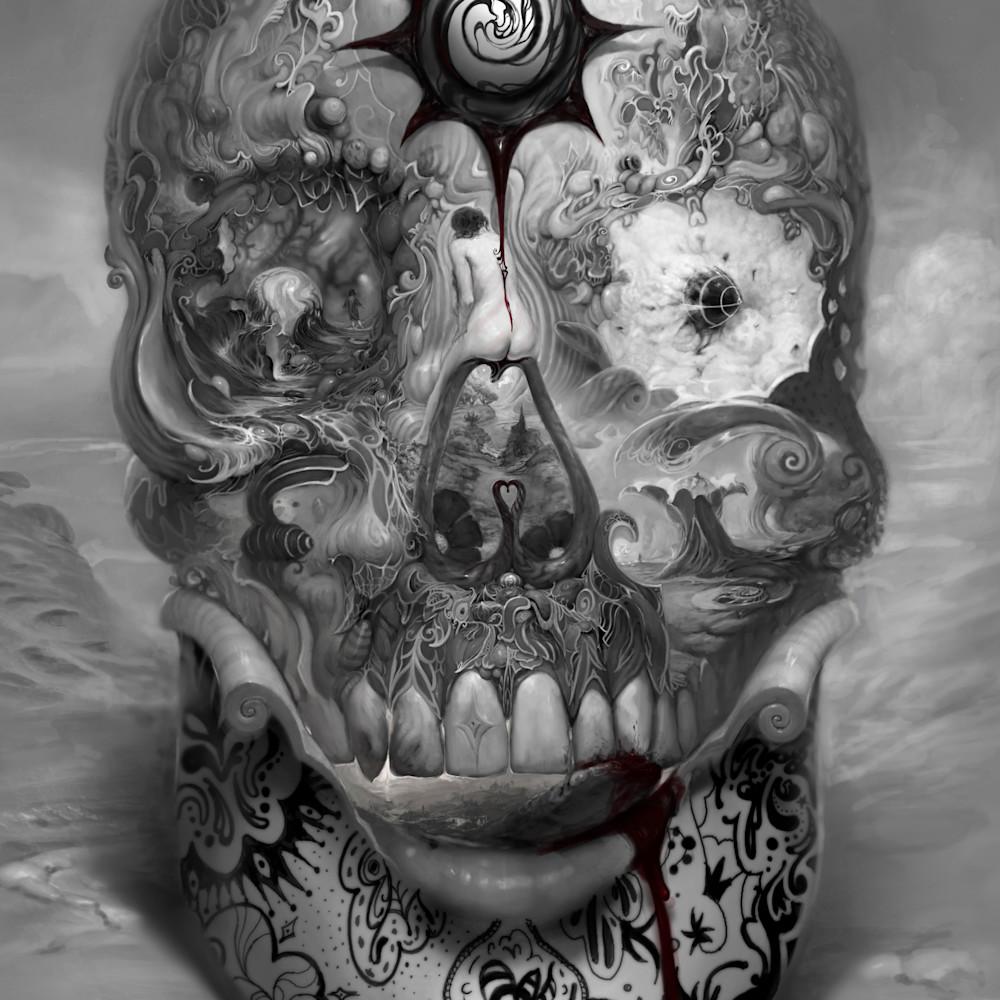 Asf skullbw caseoo