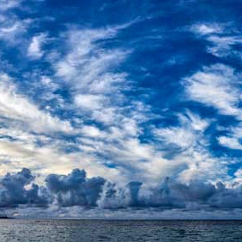 A parade of clouds yrvcwl