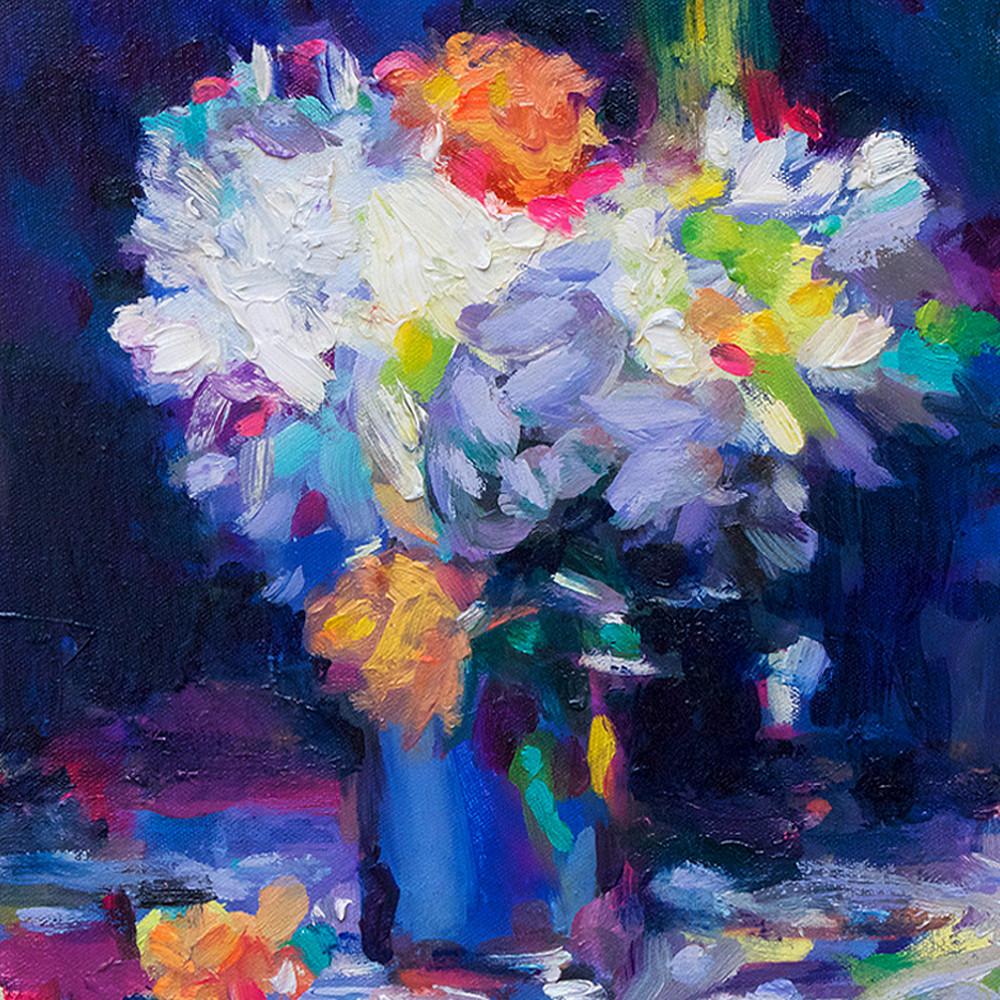 Western painter blue still life charles wallis jtea8c
