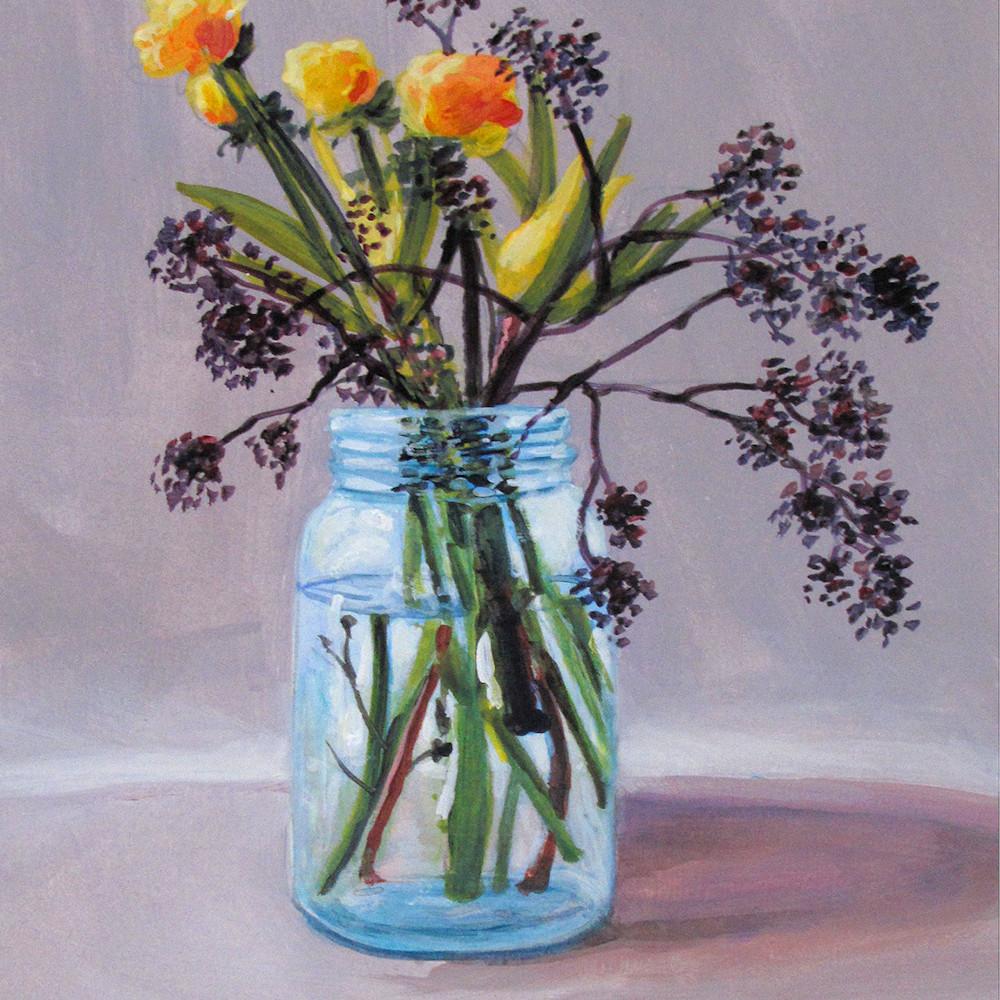 Country floral still life 1 q370jg
