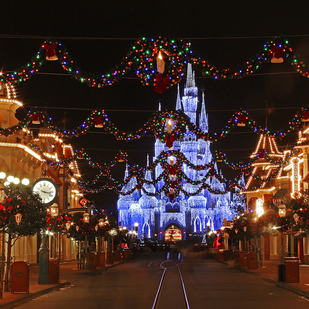 Magic kingdom at christmas sznin7