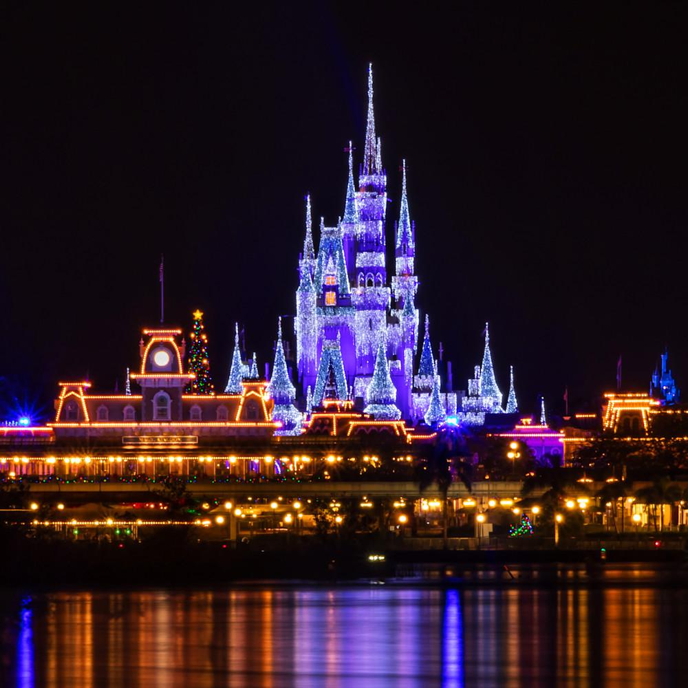 Magic kingdom christmas cl9cyx