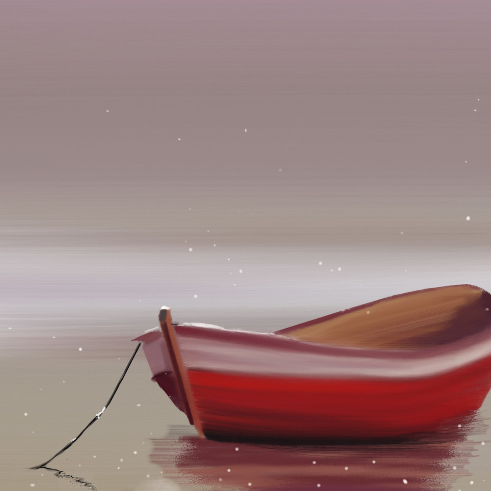 Christmas boat abstract background print ready vntsno