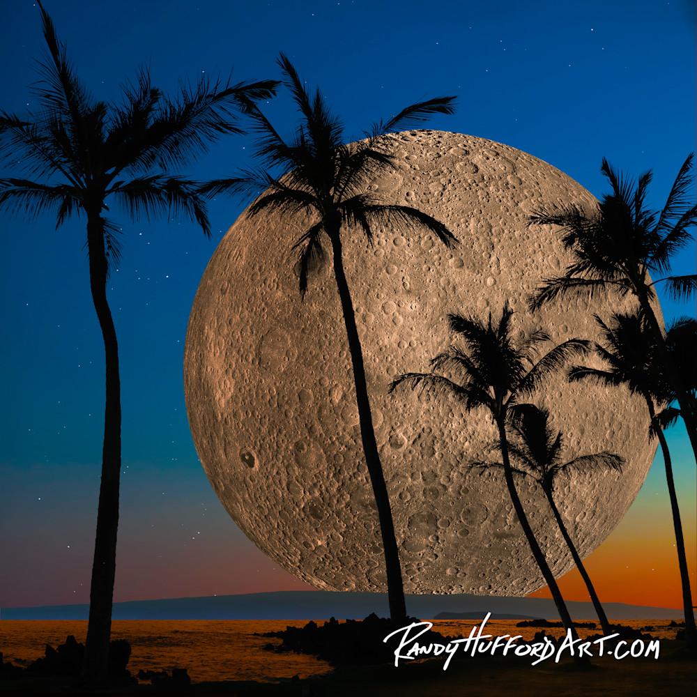 Hawaiian super moon hr2vjk
