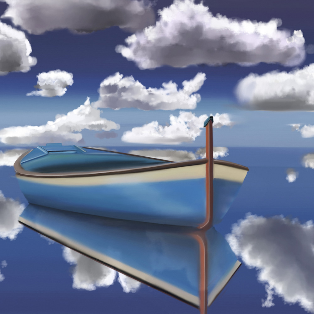 Blue clouds print ready chu0nq