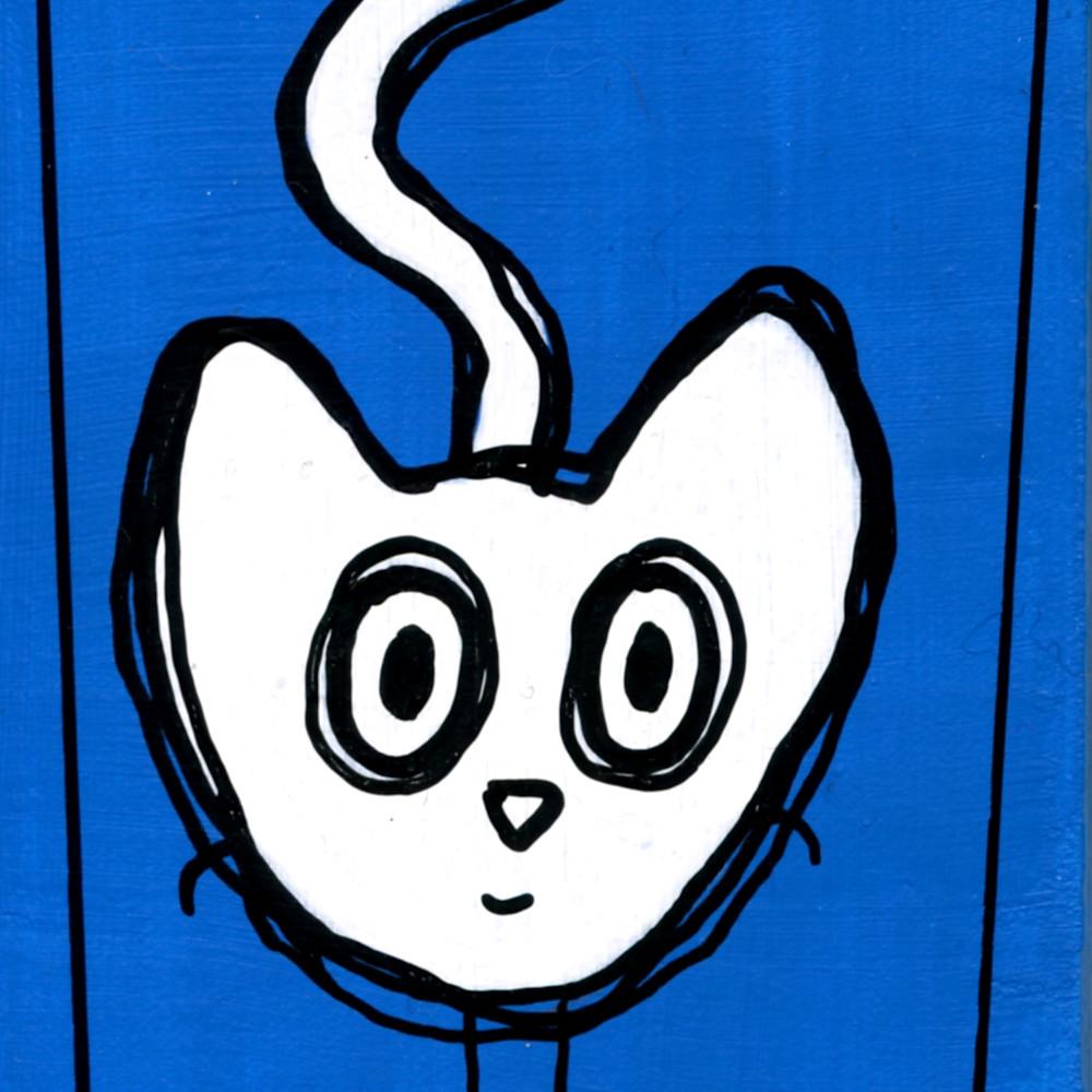 Little blue cat bu60th