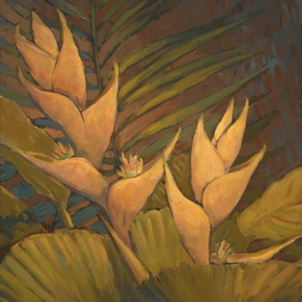 Golden heliconia 27 x 20 tli4rn