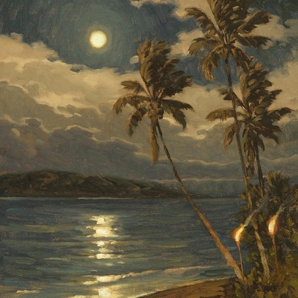 Lahaina moon by daryl millard gqgekb