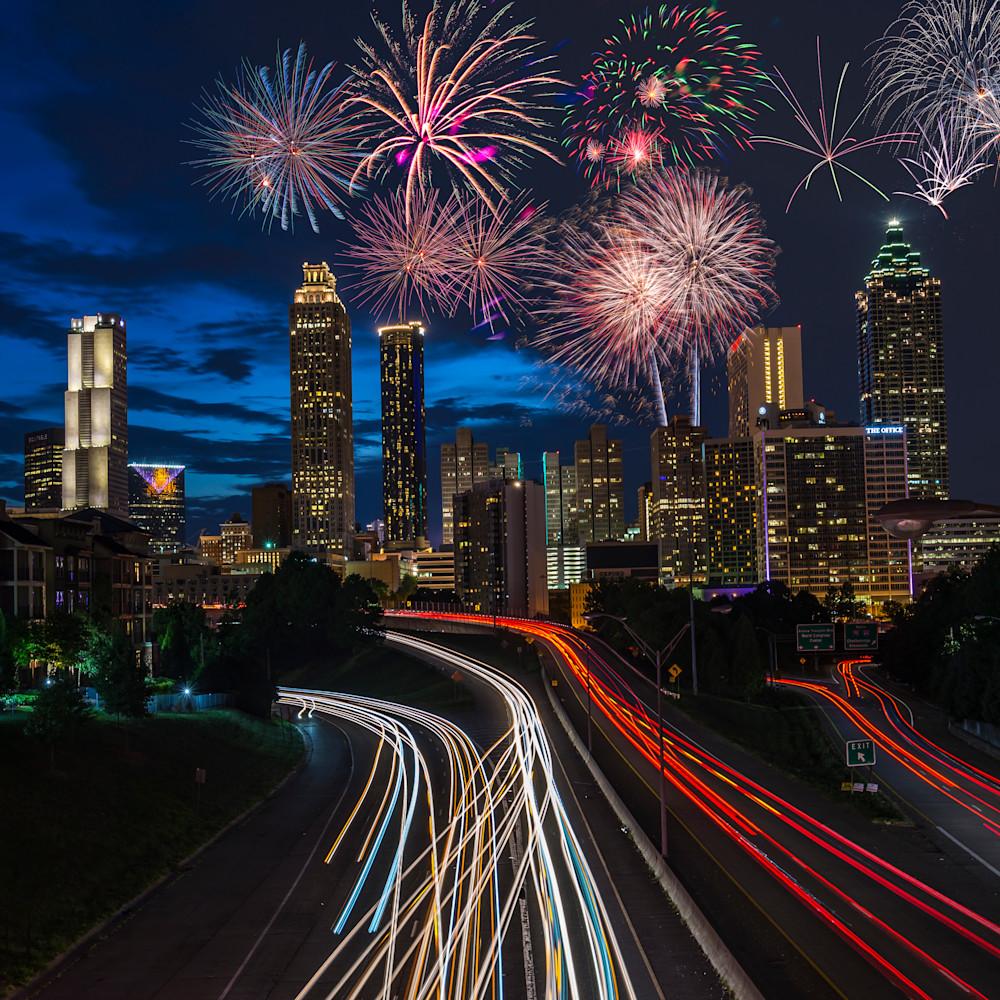 Fireworks at jackson street bridge f4rjac