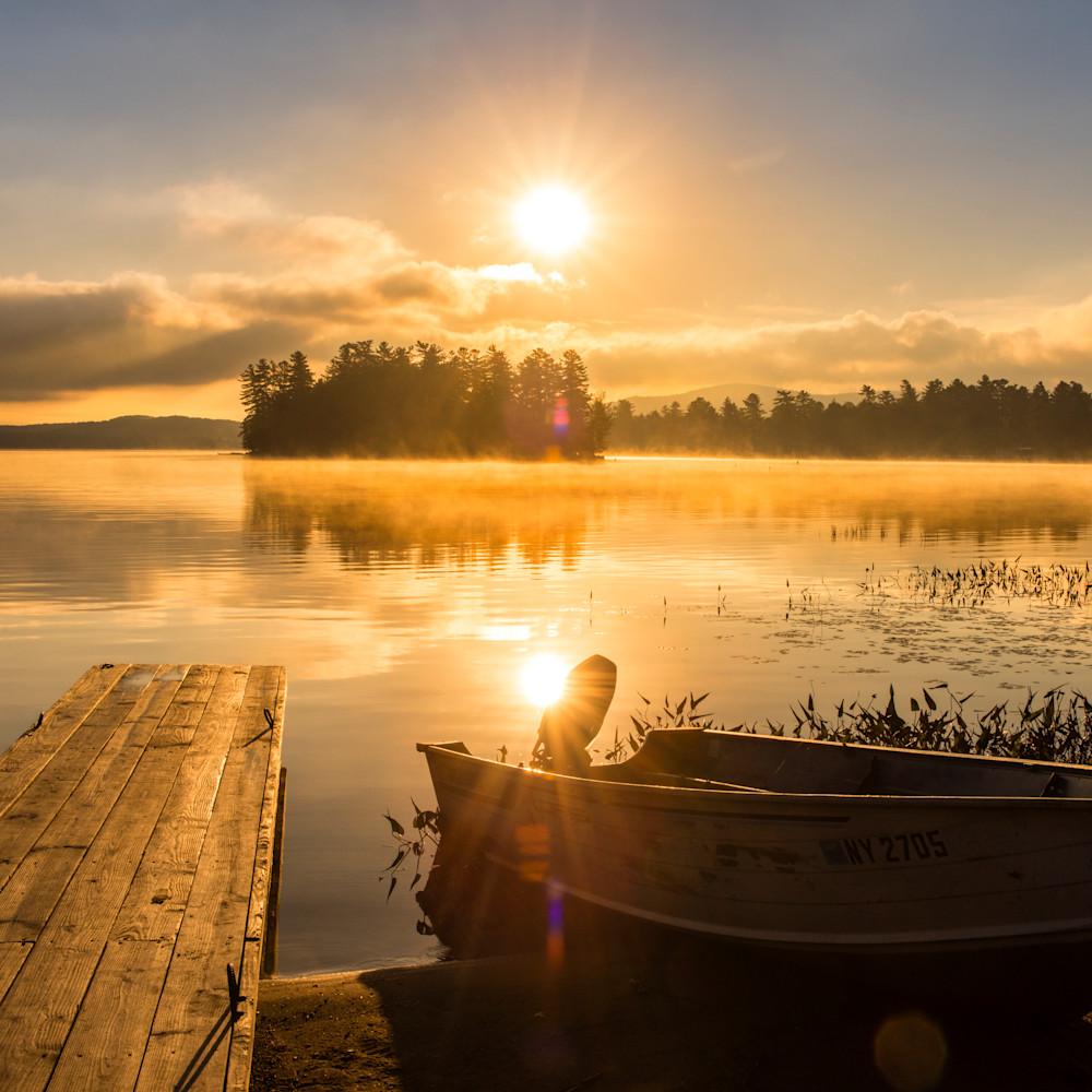 Raquette lake sunrise boat mmejhg