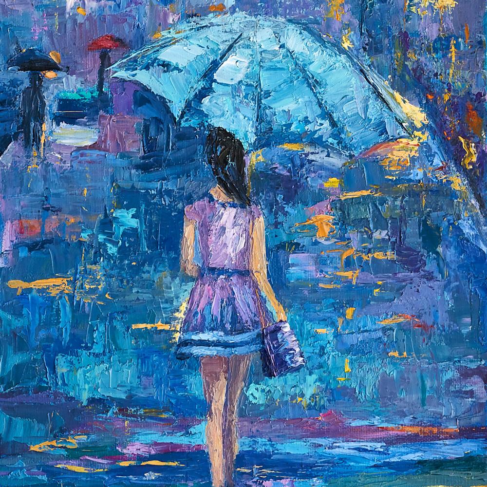 Under my blue umbrella yfesbd